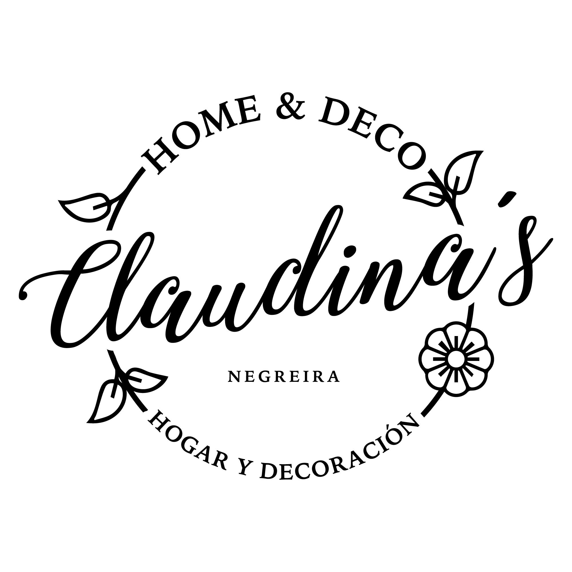 We Are B Diseno De Logo Para Claudina S Home And Deco